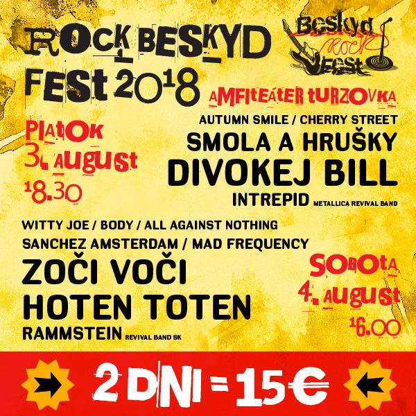 ROCK BESKYD FEST 2018
