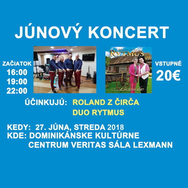Júnový koncert