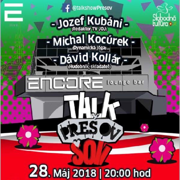 Talkshow Prešov XVIII.