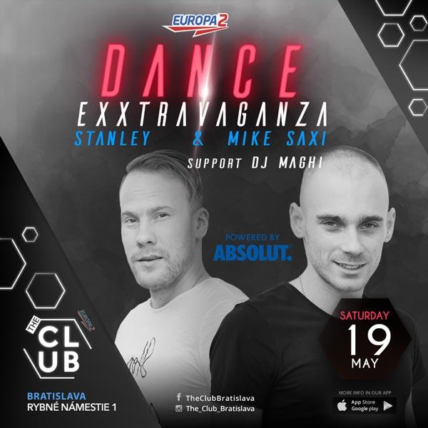 DANCE EXXTRAVAGANZA Stanley & Mike Saxi