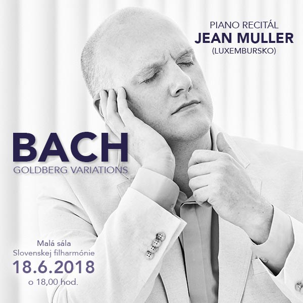 PIANO RECITÁL JEAN MULLER (Luxembursko)