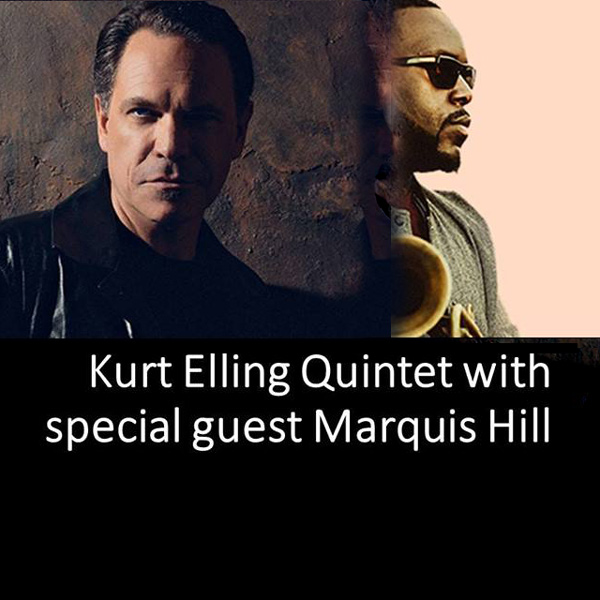 Kurt Elling Quintet with special guest M. Hill/USA