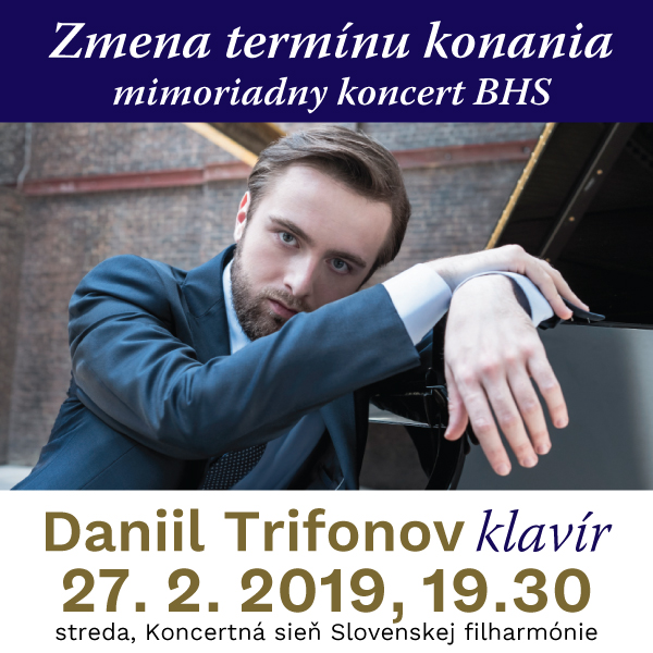 Klavírny recitál Daniil Trifonov