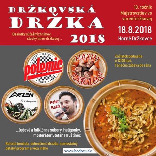 Držkovská držka 2018