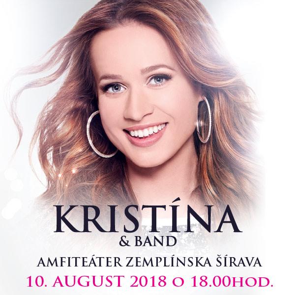 Kristína & Band na Zemplínske šírave +autogramiáda