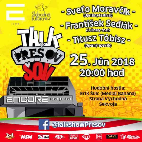 Talkshow Prešov XIX.