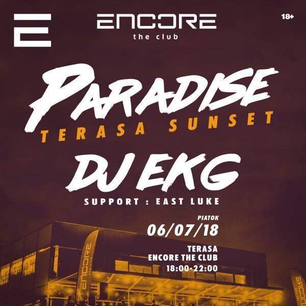 Paradise - terasa sunset - DJ EKG