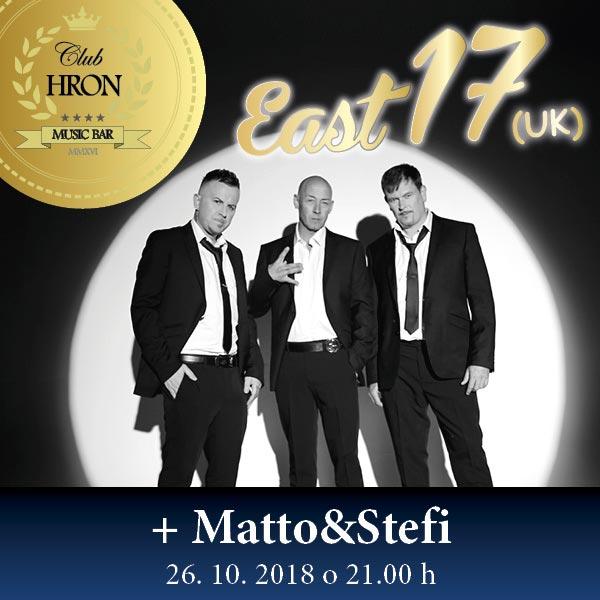 EAST 17 – MATTO&STEFI