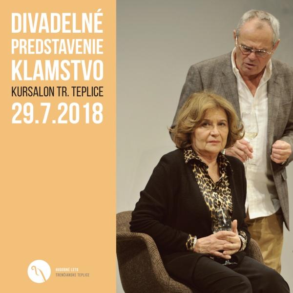 Divadelné predstavenie Klamstvo v Kursalone