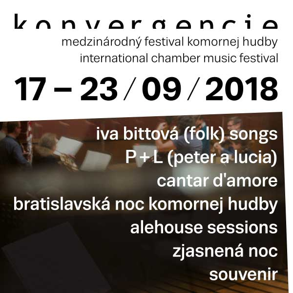 Konvergencie Bratislava - permanentka