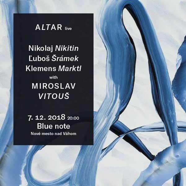 ALTAR quartet feat Miroslav Vitouš