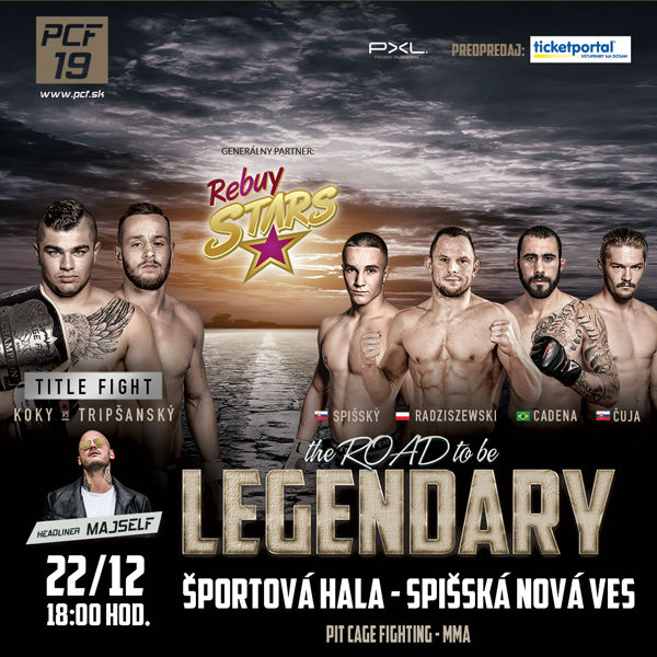 Pit Cage Fighting 19 - the ROAD to be LEGENDARY