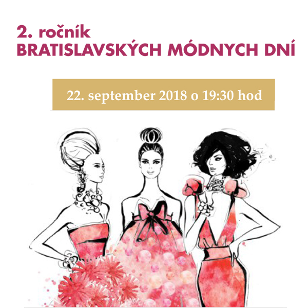 Bratislavské módne dni v hoteli Kaskady