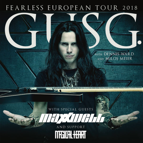 GUS G. + Support