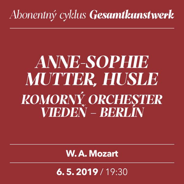 ANNE-SOPHIE MUTTER – Mozart