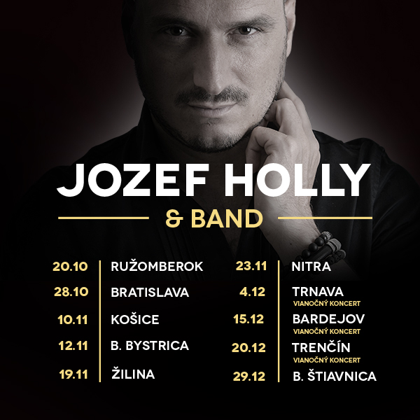 JOZEF HOLLY & BAND - Fantasy Tour
