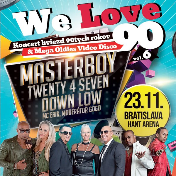 We Love 90-Masterboy-Twenty 4 Seven-Down Low