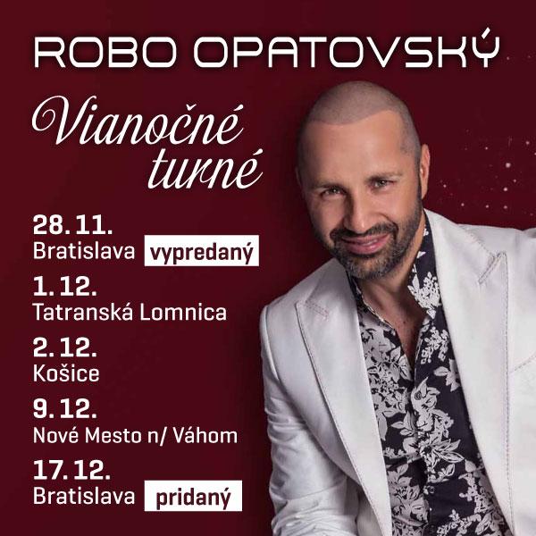 Vianočné turné Robo Opatovský