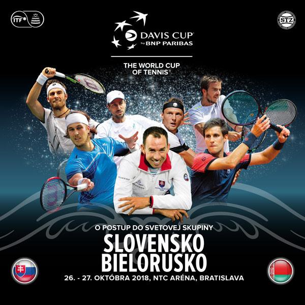 Davis Cup Slovensko - Bielorusko