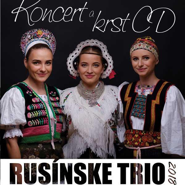 Rusínske TRIO - Koncert a krst CD