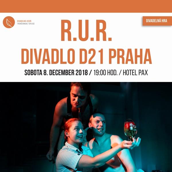Divadelné predstavenie R.U.R. – Tr. Teplice