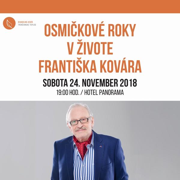 Osmičkové roky v živote Františka Kovára