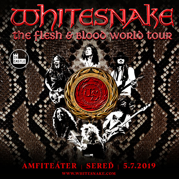 IN CASTLE 2019 WHITESNAKE (UK)