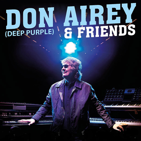 Don Airey & friend