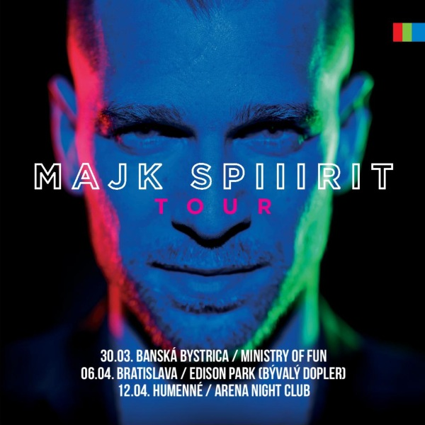 MAJK SPIRIT TOUR - KRST ALBUMU NIE SOM TU NAHODOU