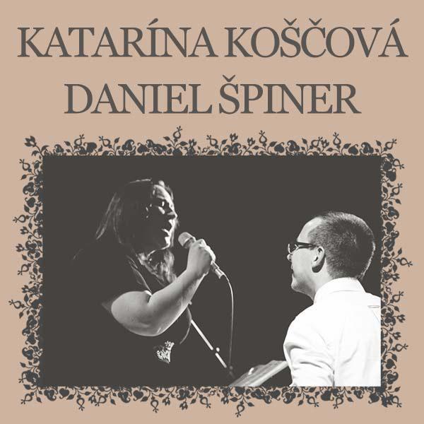 Katarína Koščová a Daniel Špiner