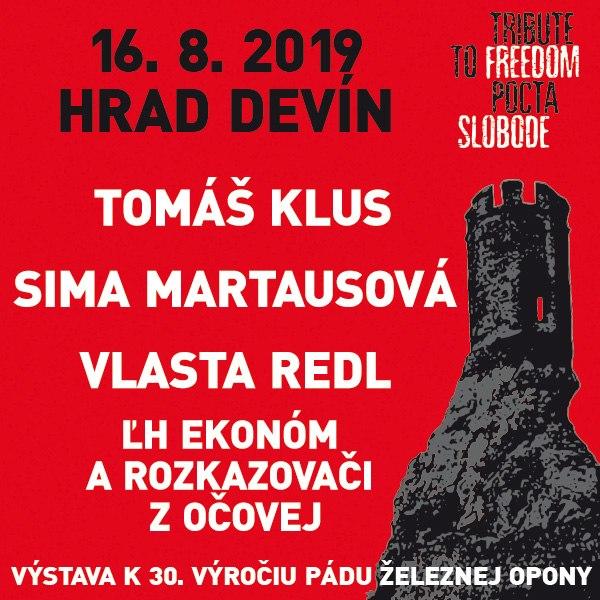 TRIBUTE TO FREEDOM - koncert na hrade Devín