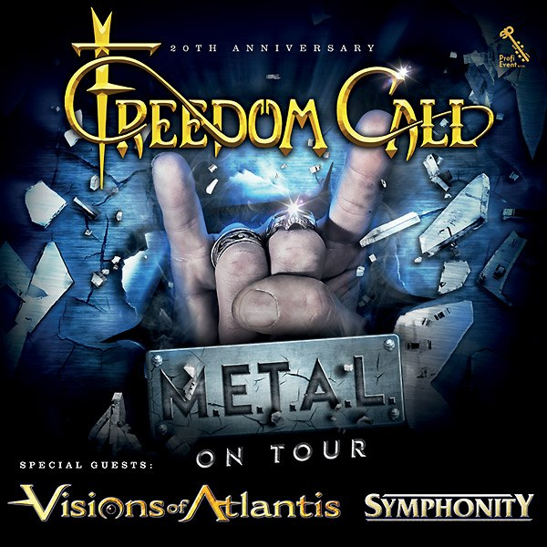 FREEDOM CALL, VISIONS OF ATLANTIS, SYMPHONITY