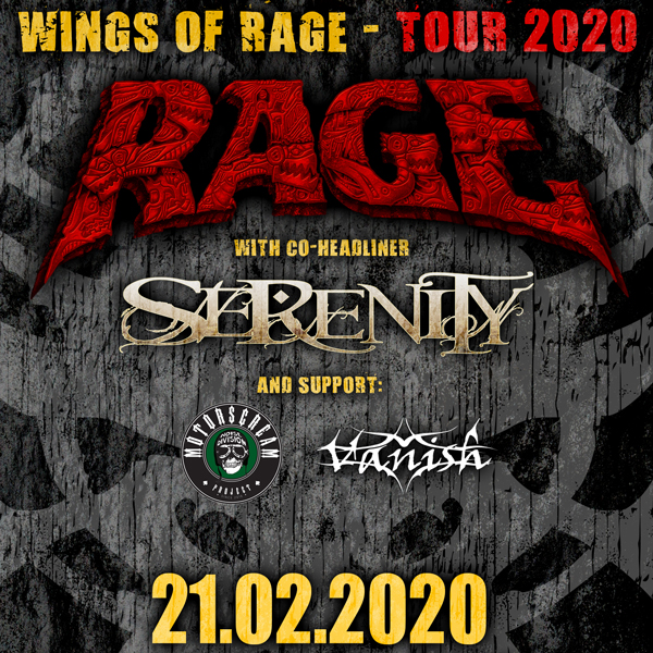 WINGS OF RAGE TOUR 2020