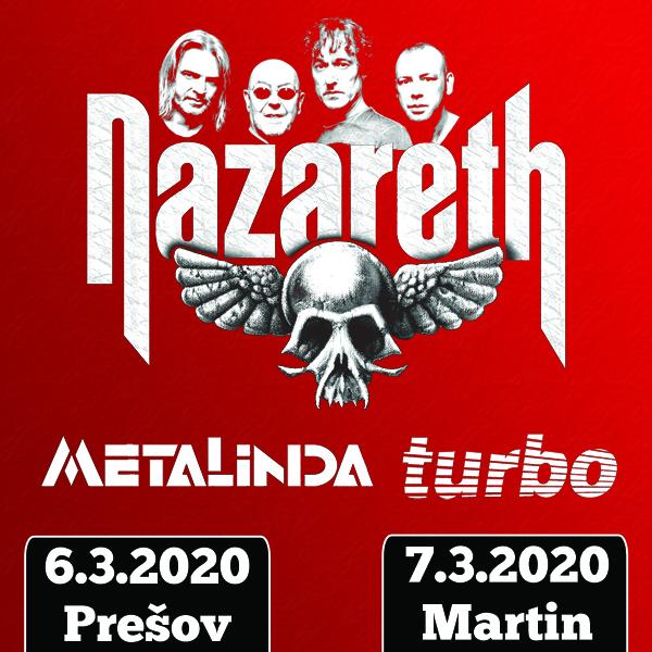 NAZARETH (GB) - METALINDA - TURBO