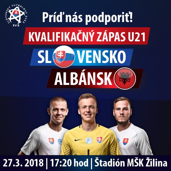 Kvalifikačný zápas U-21 ME 2019