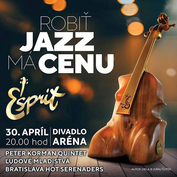 ESPRIT slávnostný večer jazzových cien s koncertom