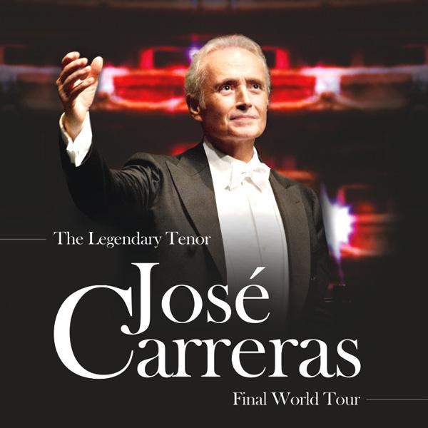 JOSE CARRERAS - A Life in Music Tour