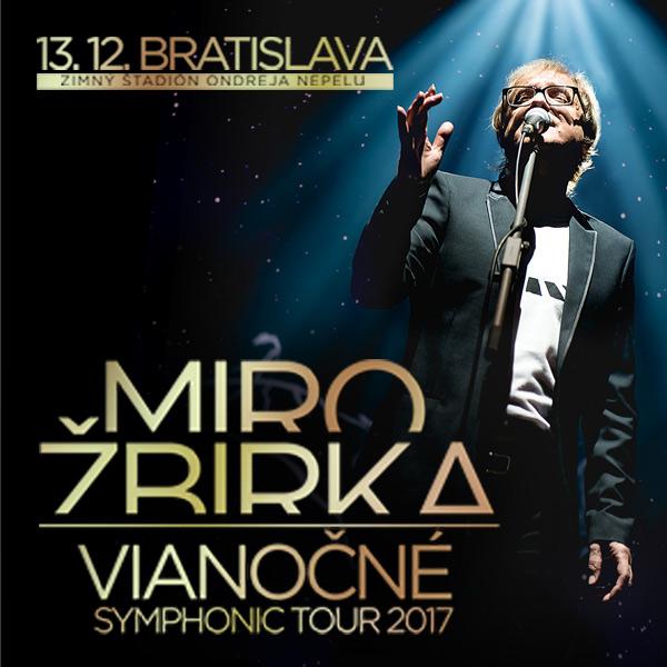 MIRO ŽBIRKA - Vianočné symphonic tour 2017