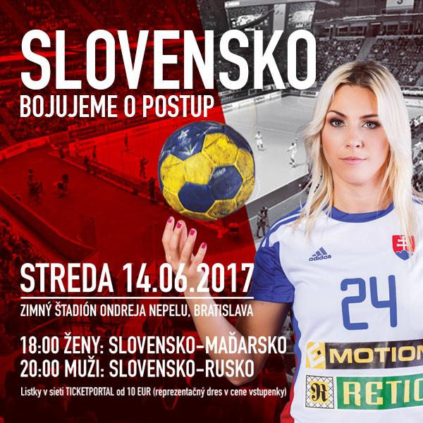 Slovensko - Bojujeme o postup