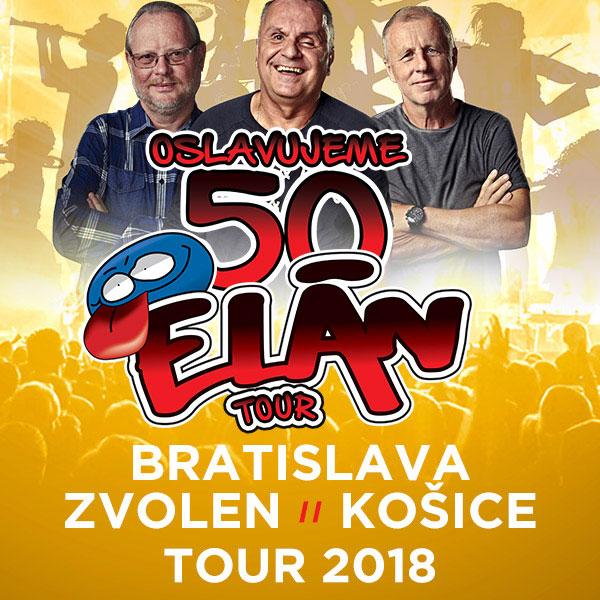 ELÁN 50 ROKOV TOUR 2018