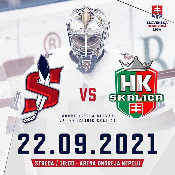 Modré krídla Slovan - HK iClinic Skalica (SHL)