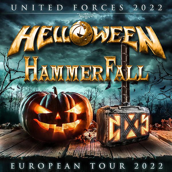 UNITED FORCES 2022 - HELLOWEEN & HAMMERFALL
