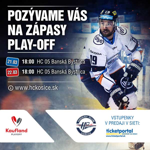 HC Košice - HC´05 Banská Bystrica