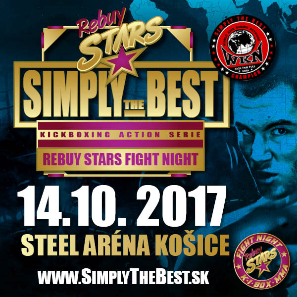 Simply the Best – Rebuy Stars Fight Night