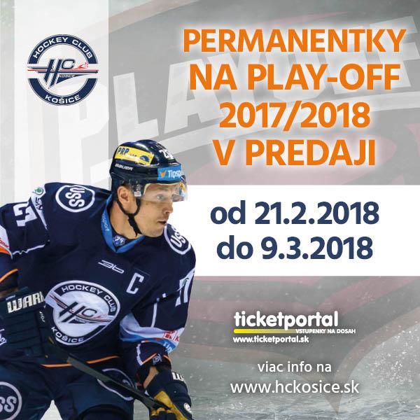 HC Košice-Permanentka Play Off časť 2017/18