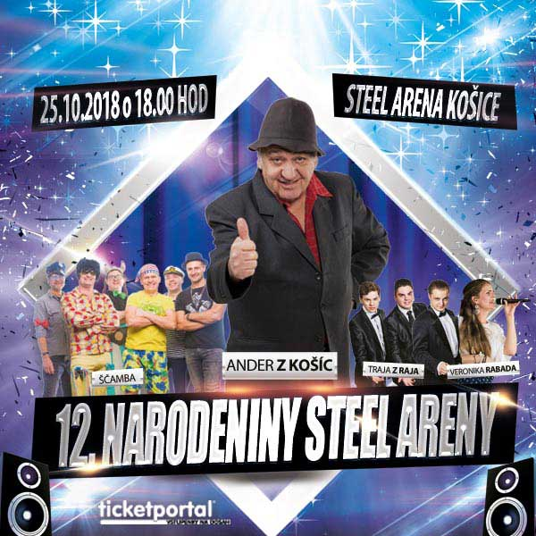 12. narodeniny Steel Arény