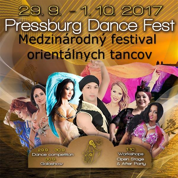 PRESSBURG DANCE FEST 2017 - festival orient.tancov