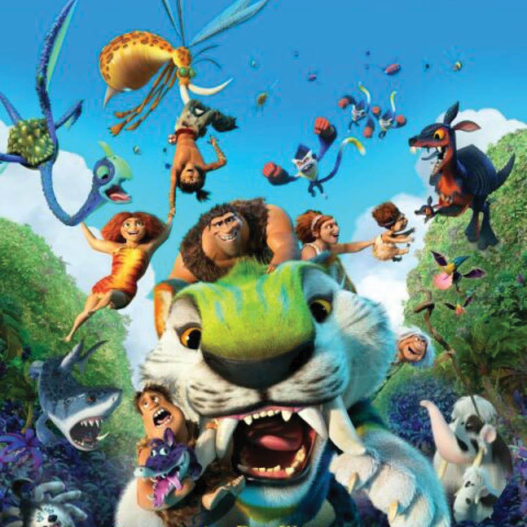 Kino pre deti: KRÚDOVCI: NOVÝ VEK