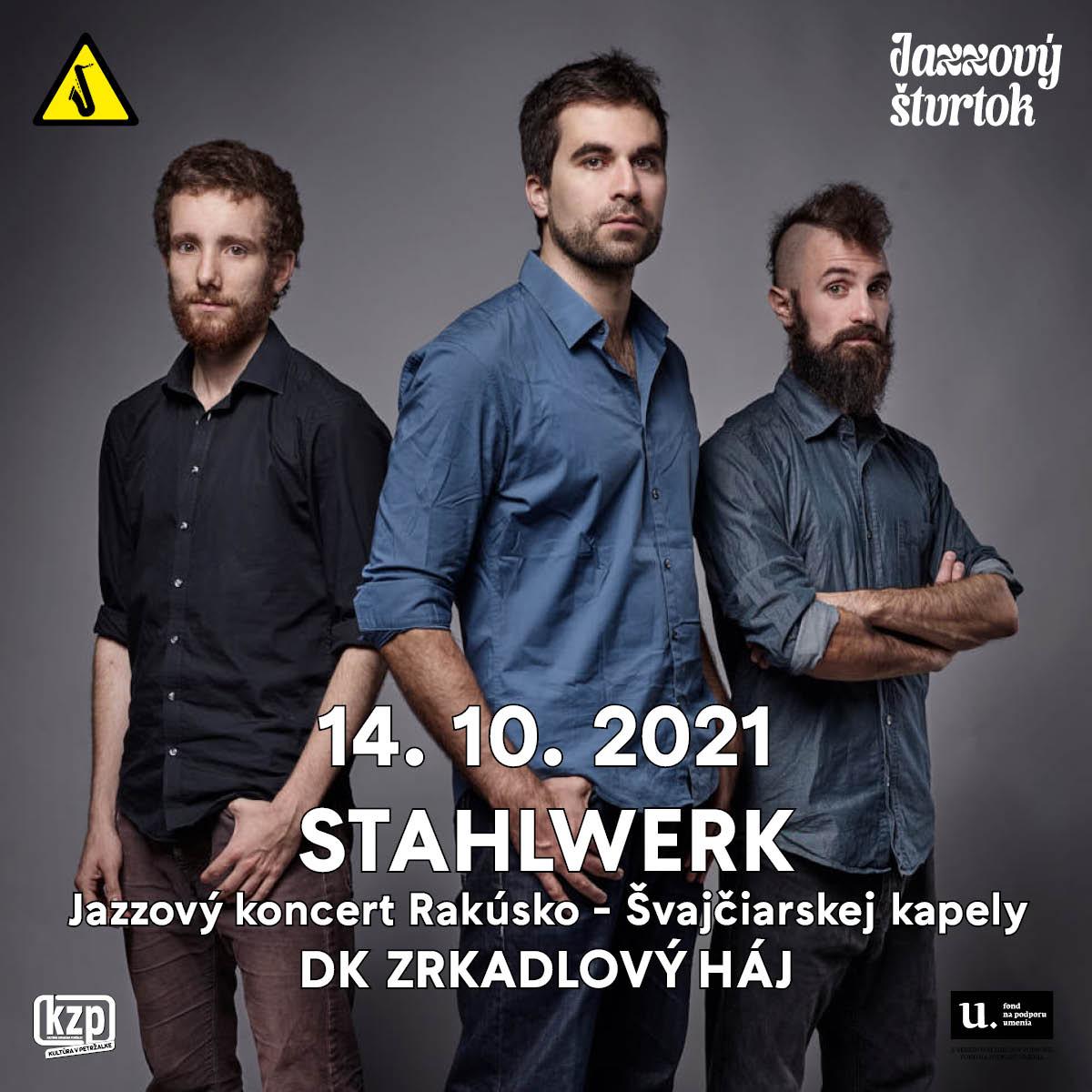 STAHLWERK - Jazzový štvrtok