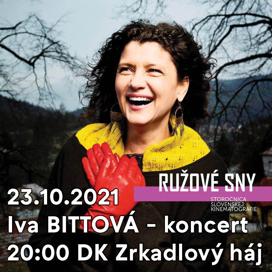 RUŽOVÉ SNY - Iva Bittová - koncert